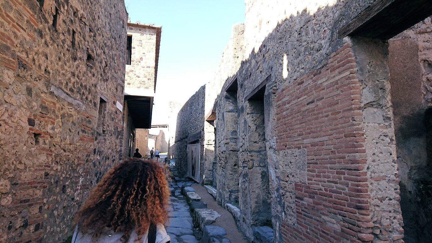 ポンペイ遺跡の飾り窓地域2