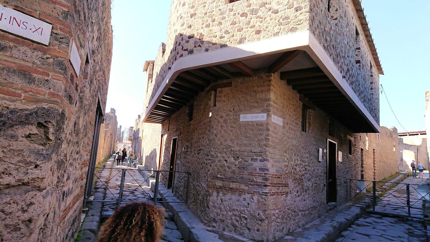 ポンペイ遺跡の娼婦の館