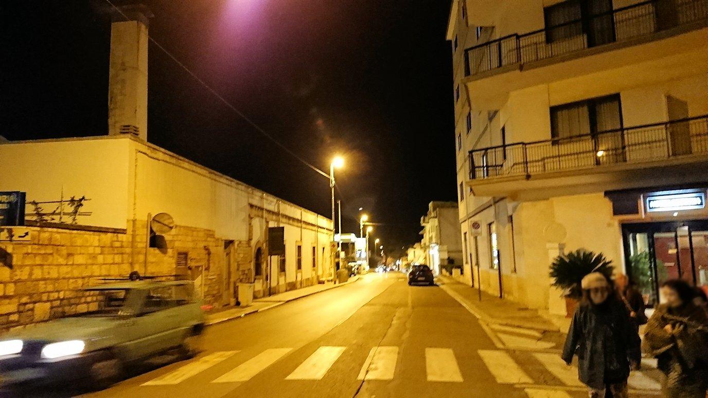 夜のアルベロベッロ探索に出発3