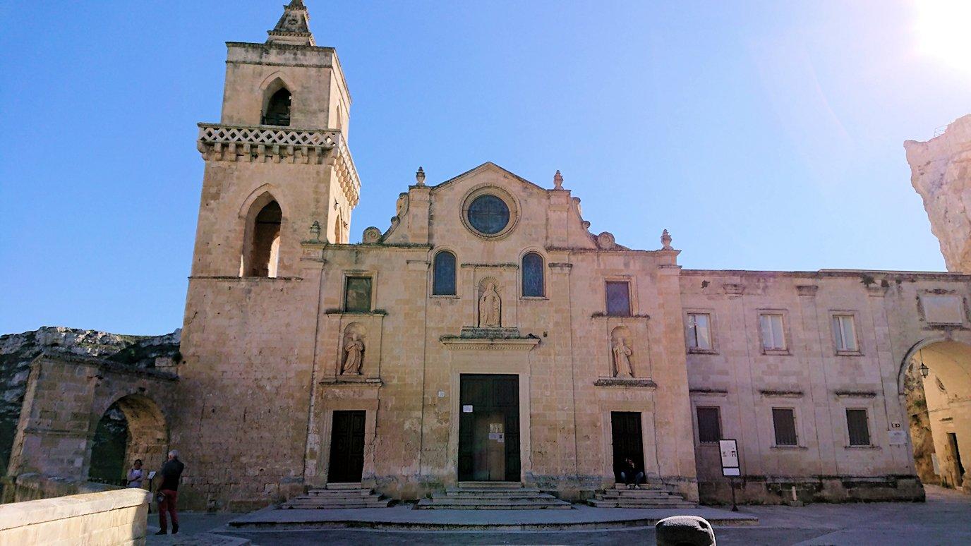 マテーラのサン・ピエトロ・カヴェオーソ教会