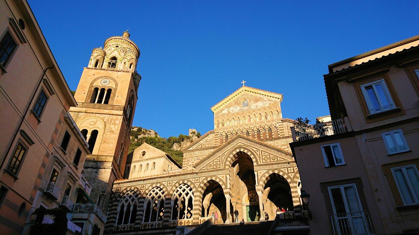 アマルフィの街の大聖堂