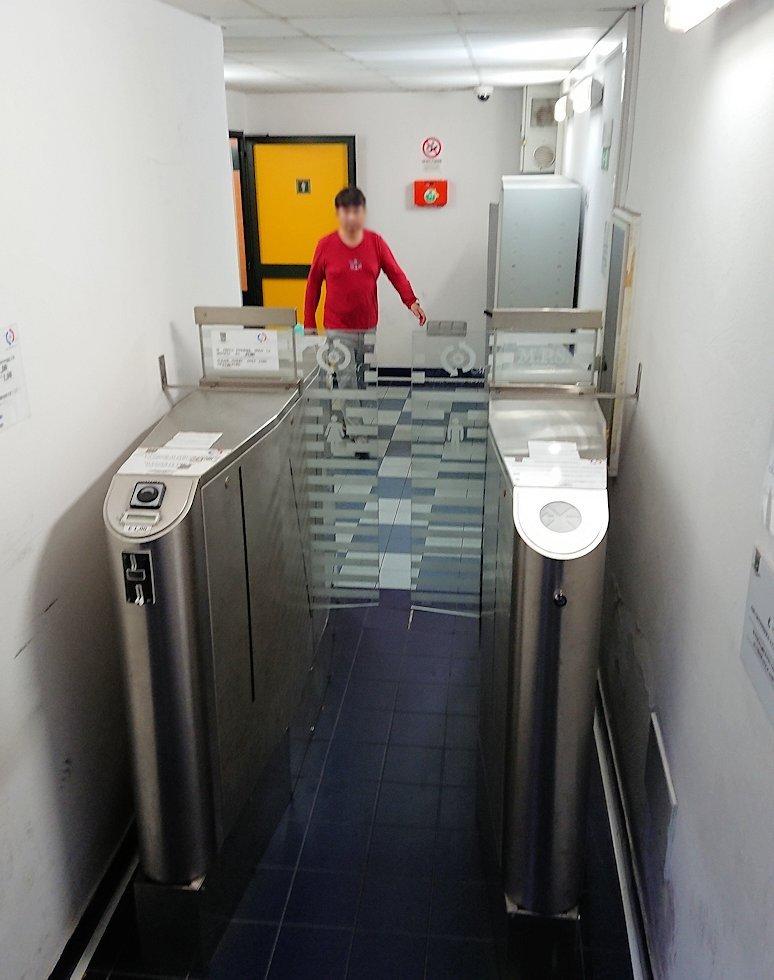アマルフィの街の公衆トイレ