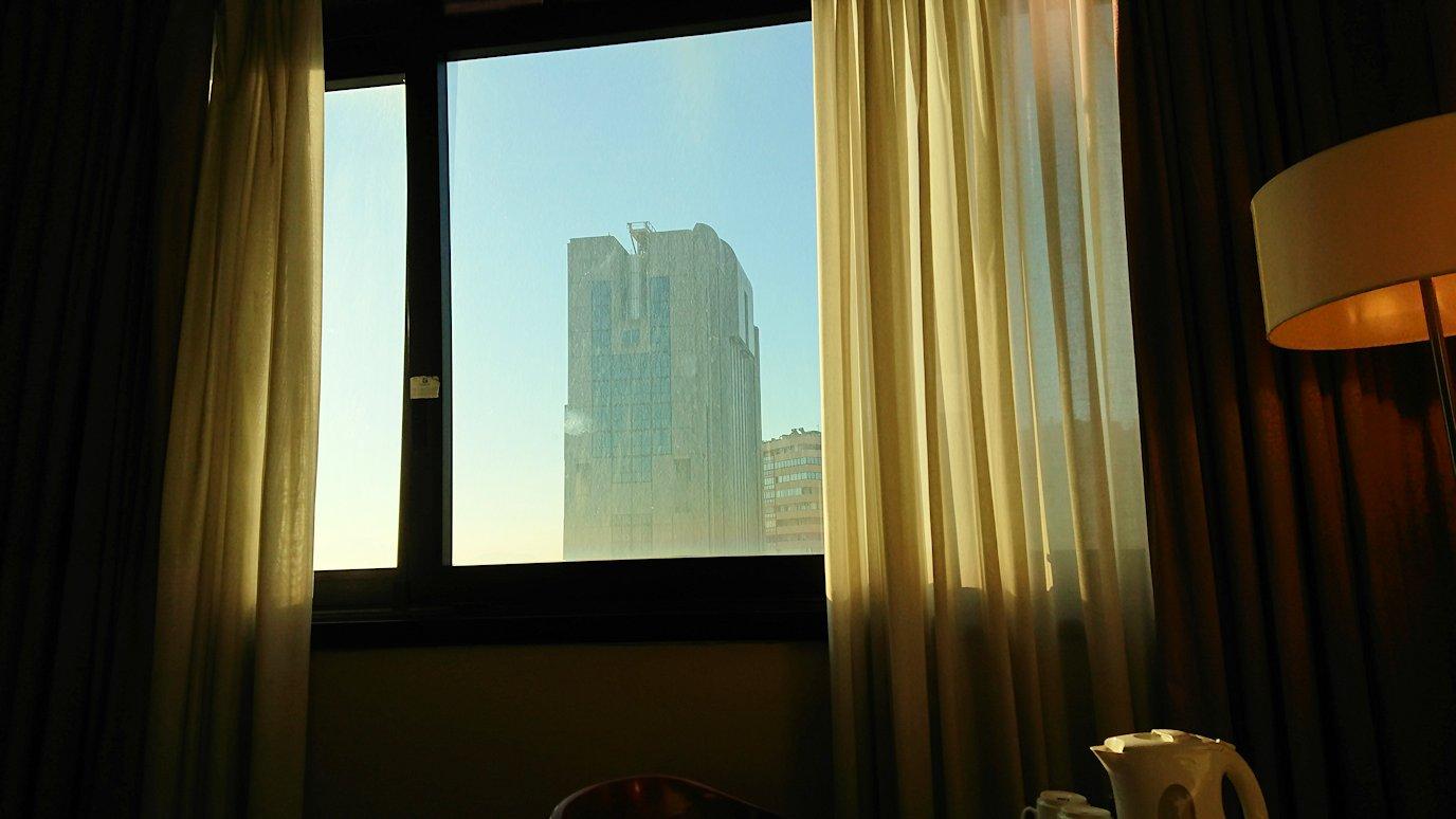 ナポリの街のホテルの様子2