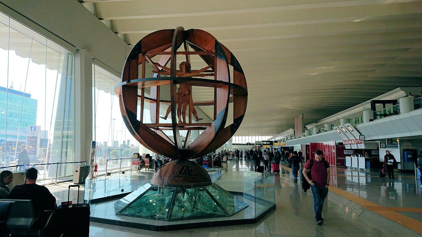 ローマの空港内部の様子4