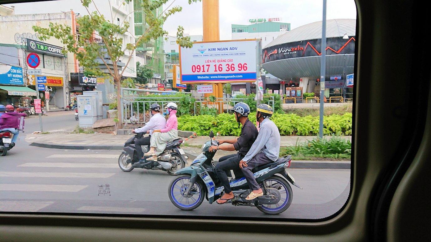 HISホーチミン支店に向かう途中に見かけたバイク