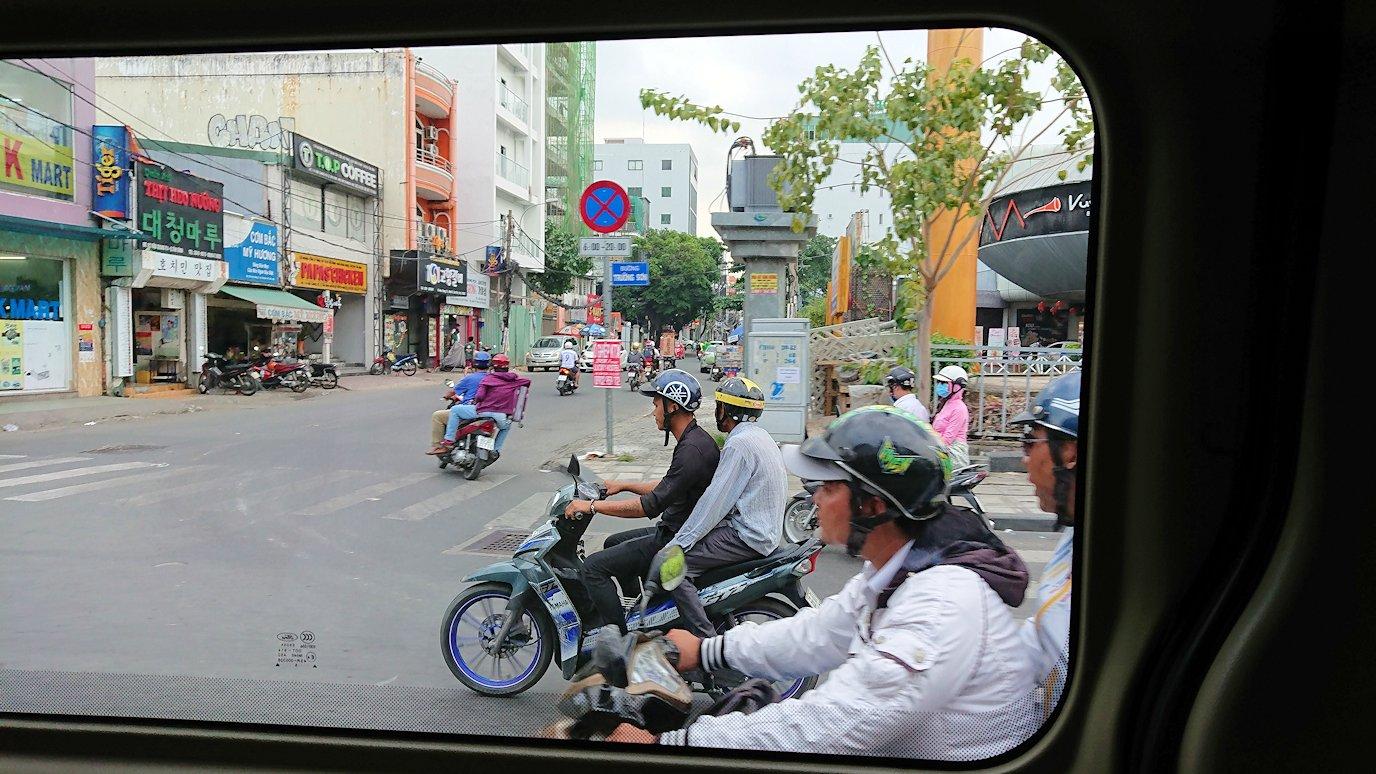HISホーチミン支店に向かう途中に見かけたバイク2