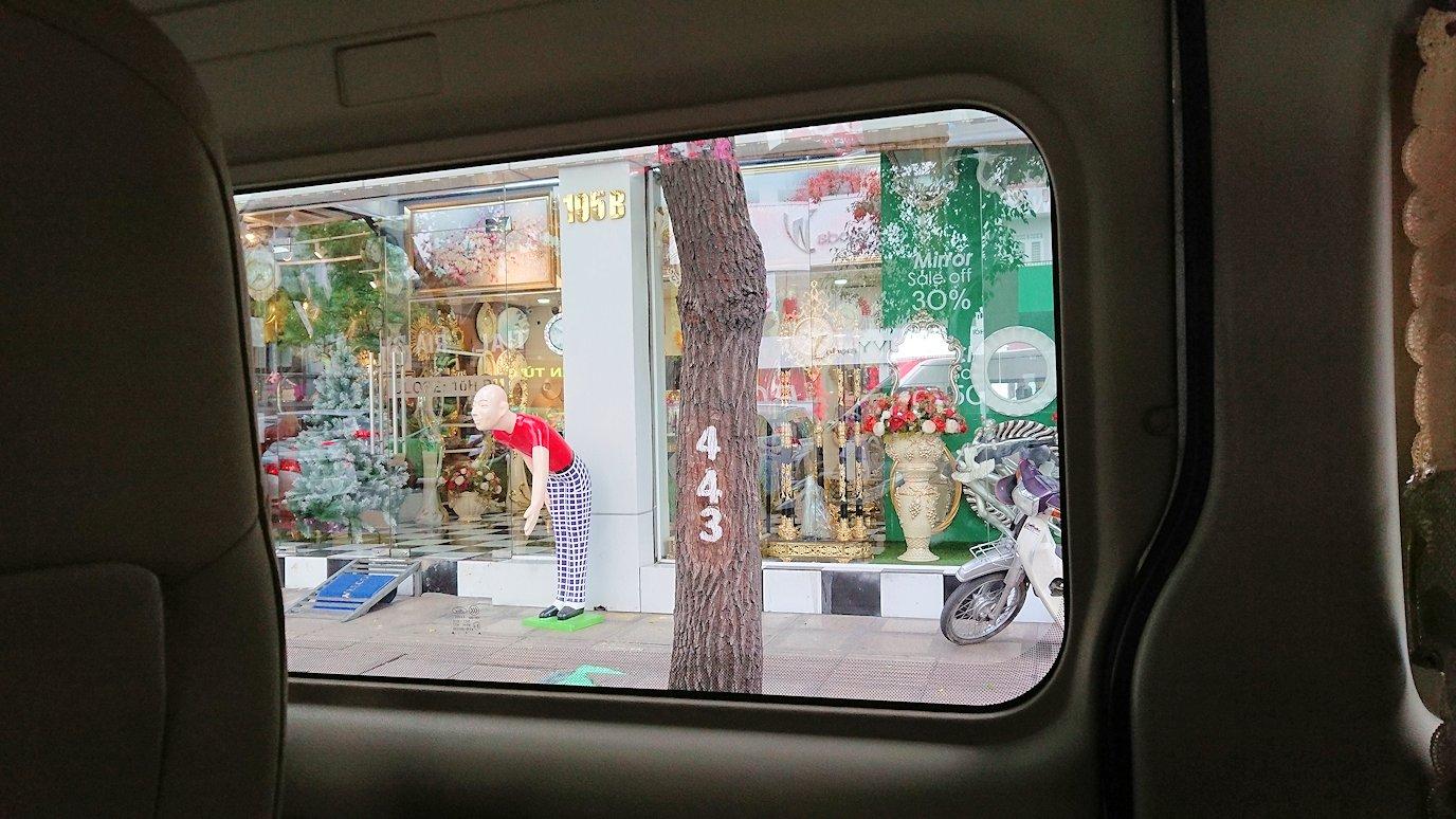 HISホーチミン支店に向かう途中の車から見た風景4