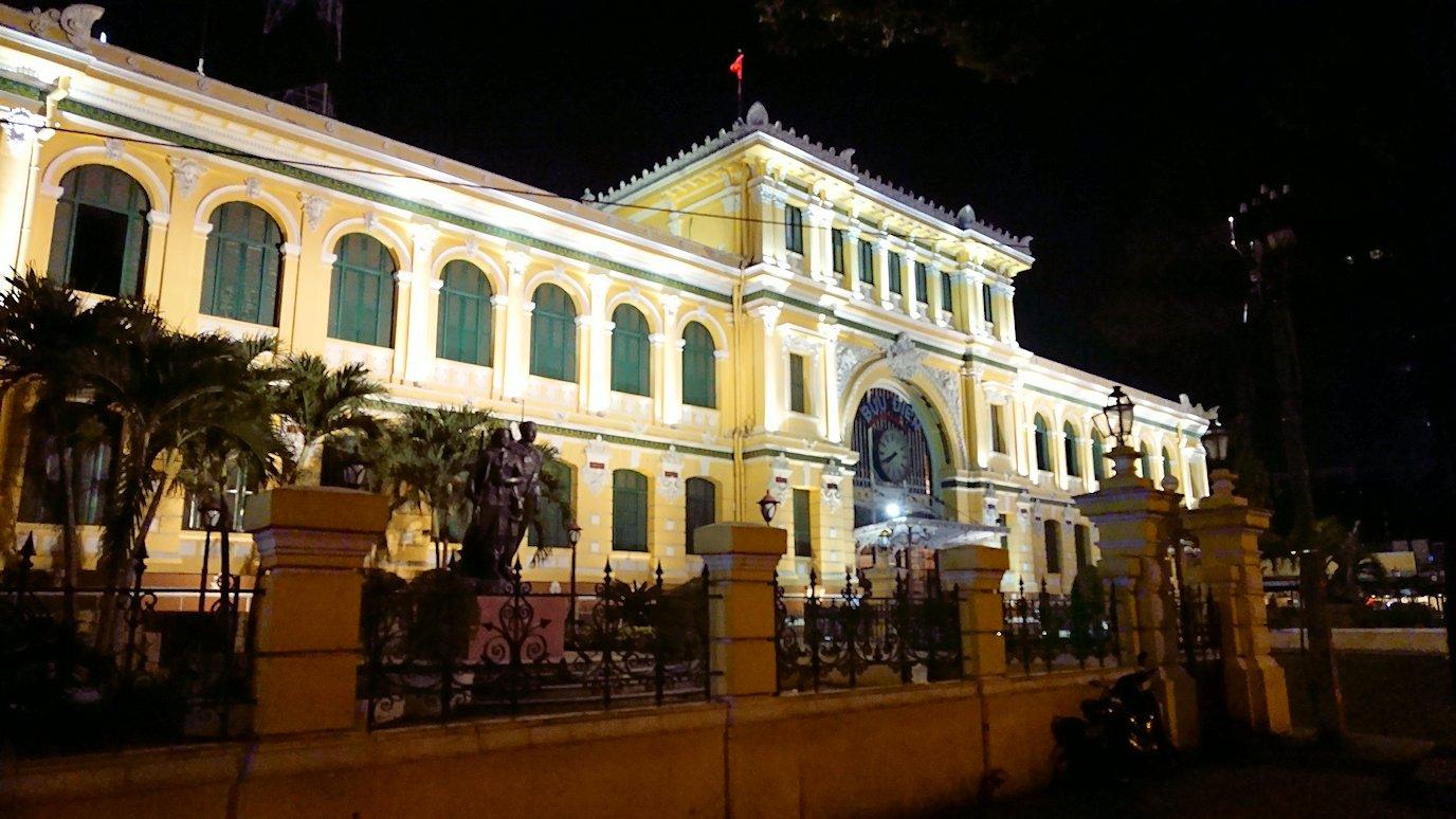 夜の中央郵便局