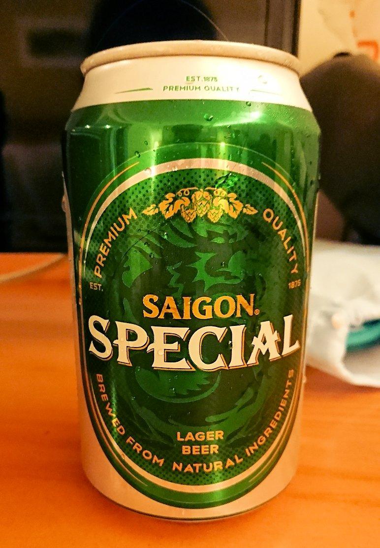 スーパーマーケットで買ったビール