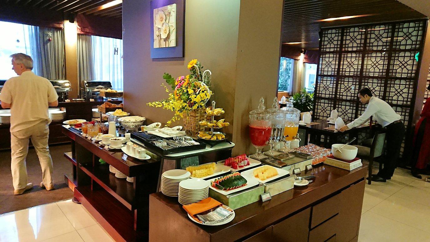 サイゴンホテルの朝食会場