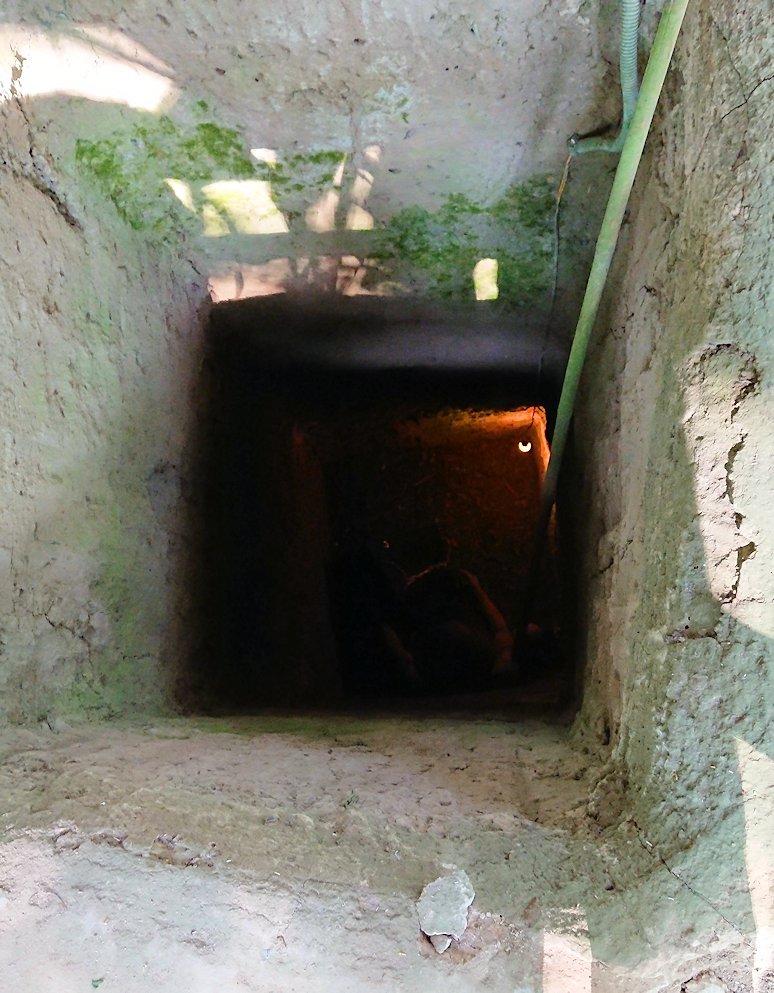 地下トンネルの掘削現場を見学2