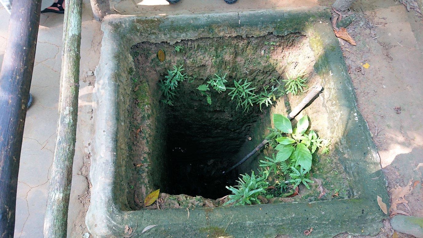 地下トンネルの掘削現場を見学4