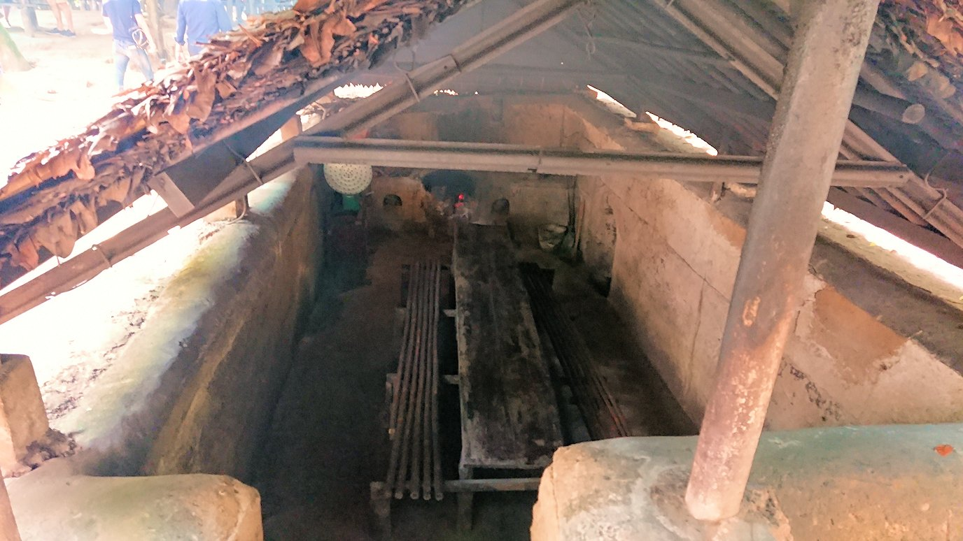 クチ地下トンネルにある飯屋2