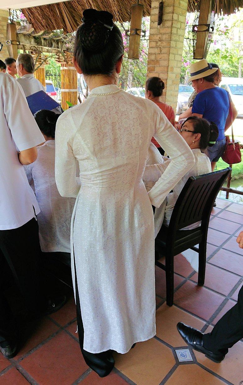 エレファントフィッシュが食べれる昼食レストラン会場の様子