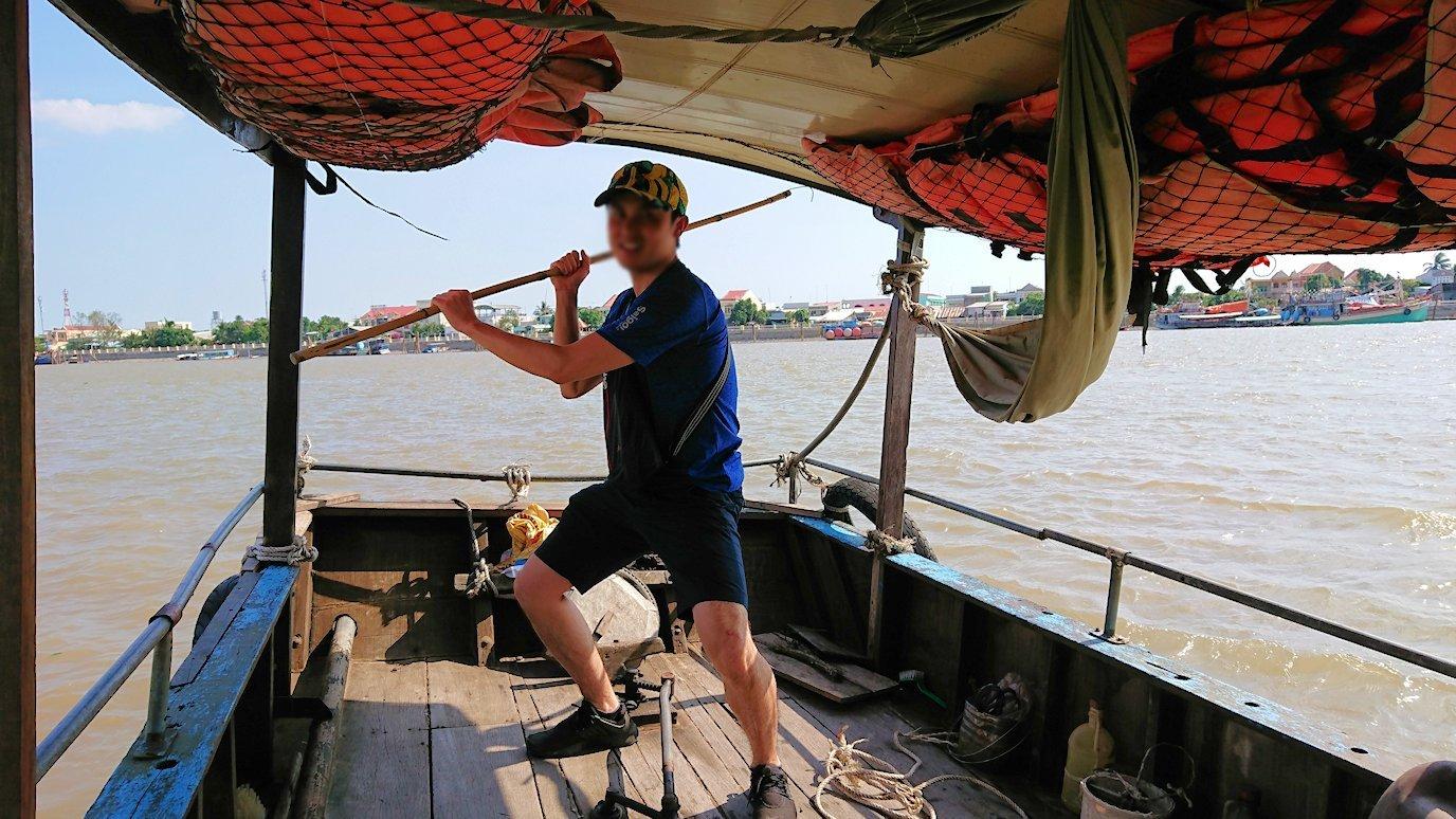 メコン川クルーズを楽しむ前5
