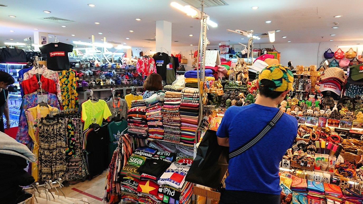ドンコイ通りにあるショッピングセンターのラッキープラザにてお買い物5