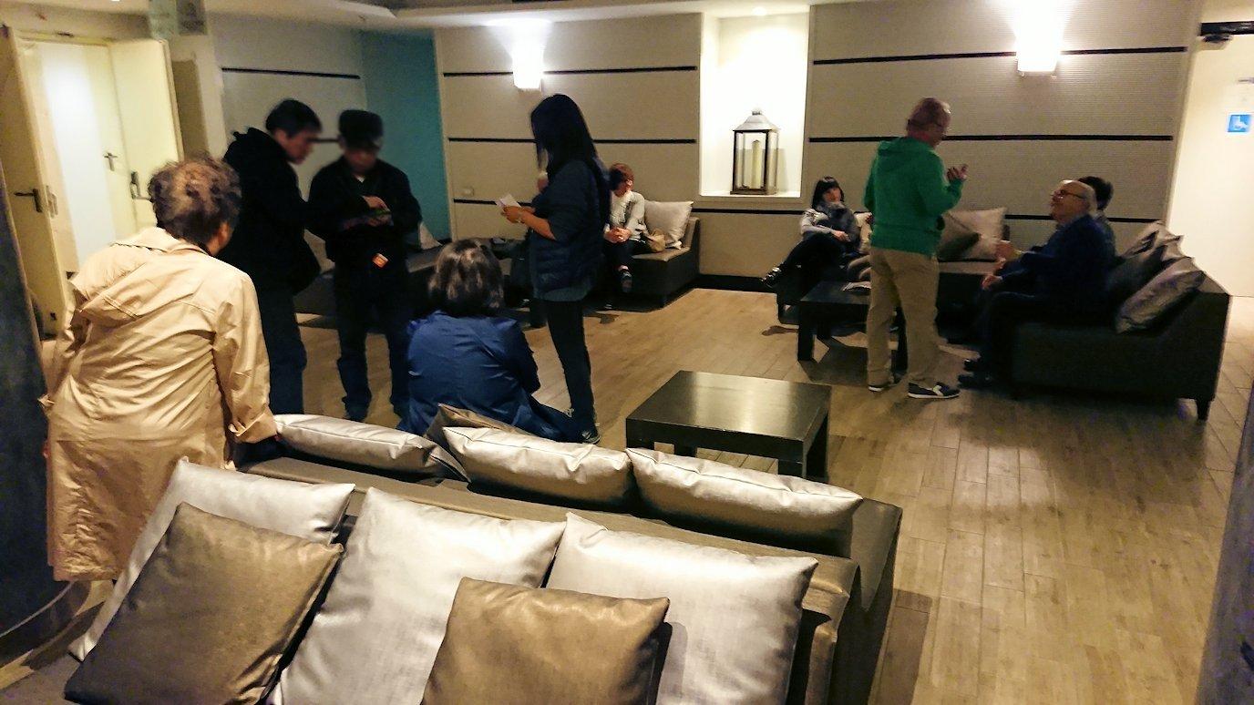 ナポリのホテルの1階ロビー2