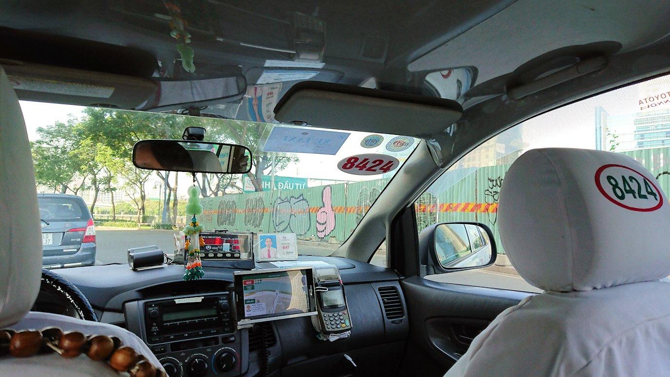ホーチミンで乗ったタクシーの車内にて5