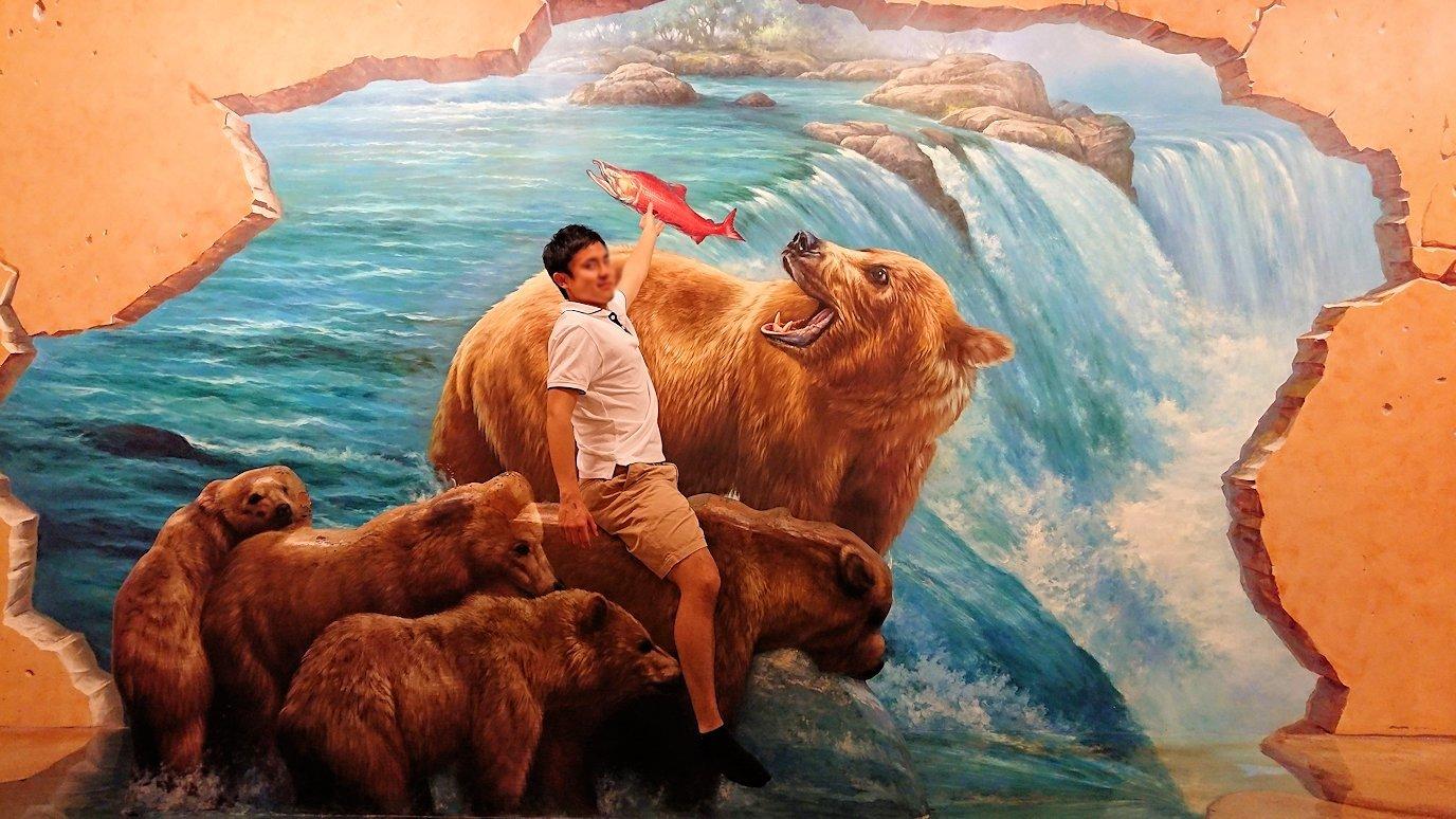 トリックアートミュージアム「アーティナス」で写真を撮りまくる男達4