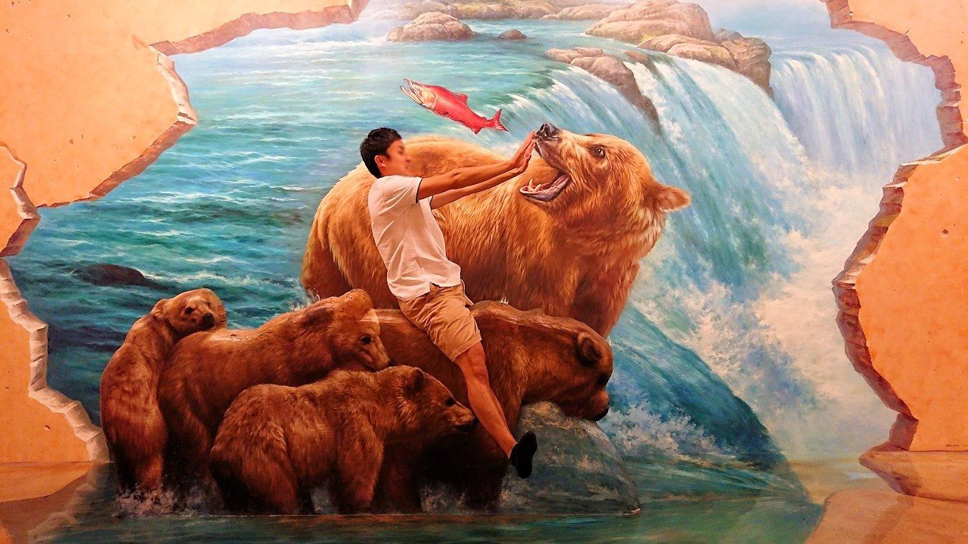 トリックアートミュージアム「アーティナス」で写真を撮りまくる男達5