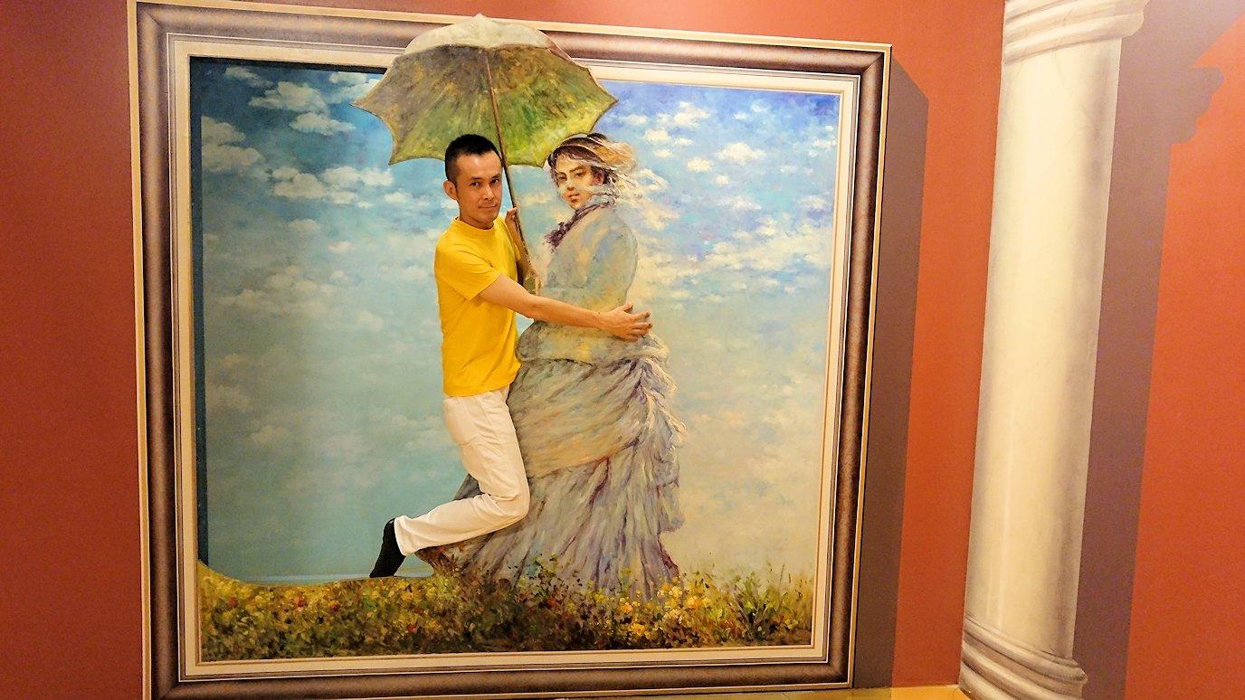 トリックアートミュージアム「アーティナス」で暴れる2人組7