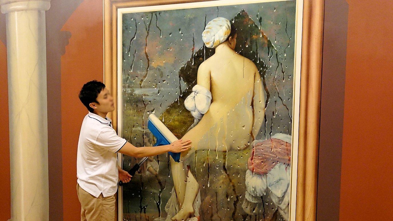トリックアートミュージアム「アーティナス」でここぞと楽しむ男達2