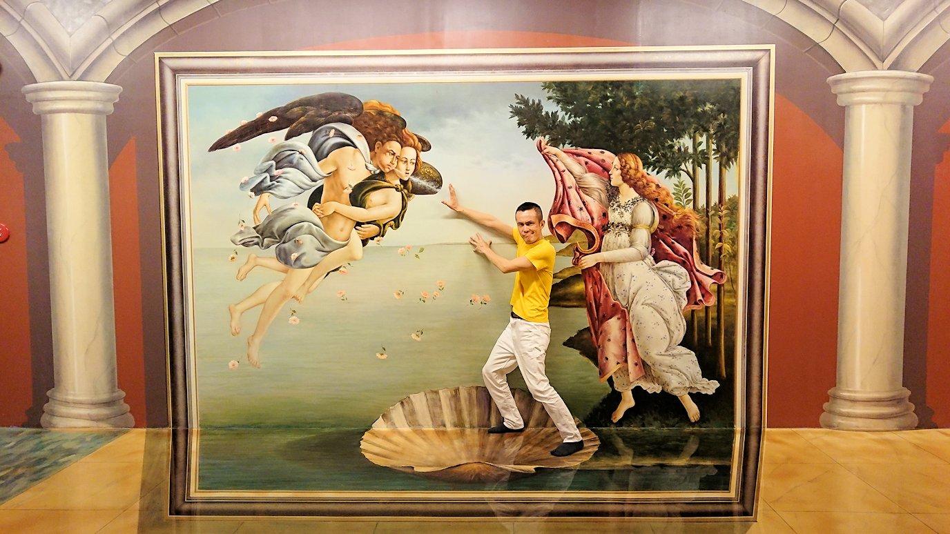 トリックアートミュージアム「アーティナス」でここぞと楽しむ男達5