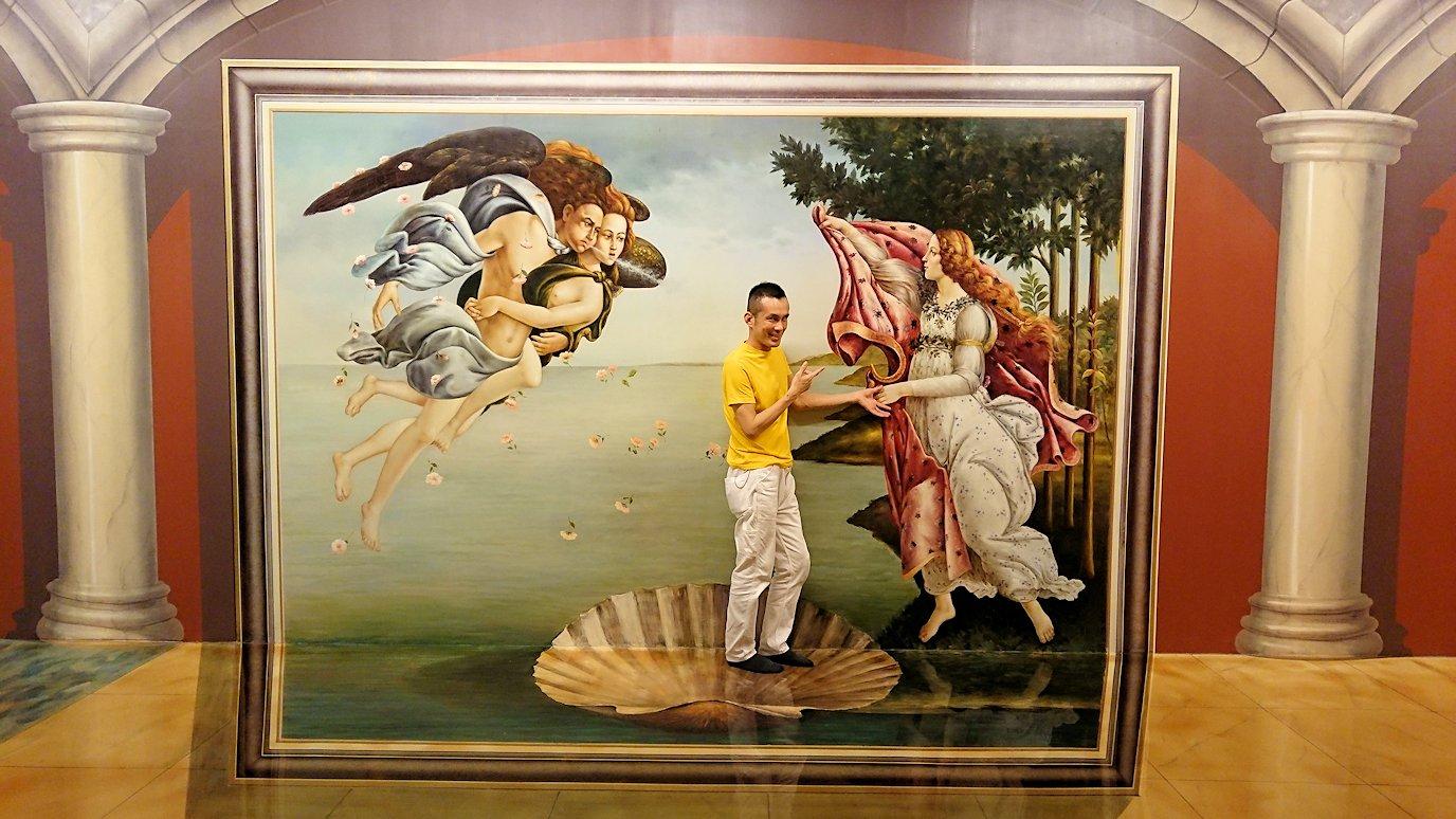 トリックアートミュージアム「アーティナス」でここぞと楽しむ男達6