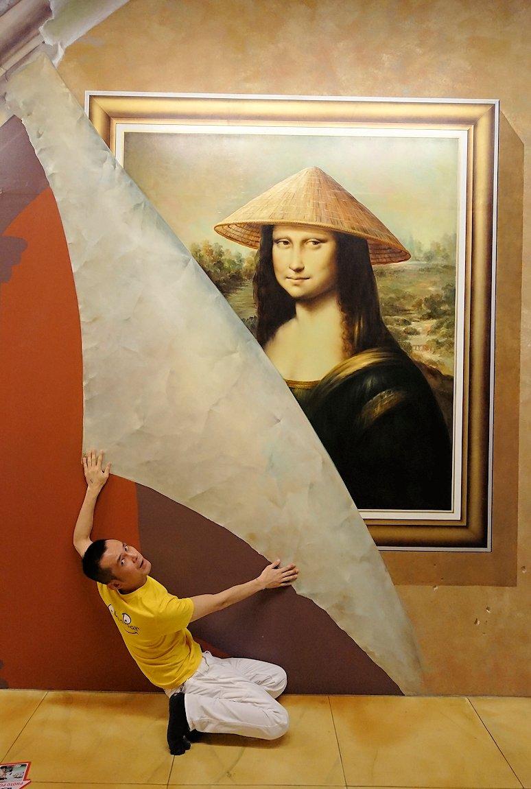 トリックアートミュージアム「アーティナス」でここぞと楽しむ男達8