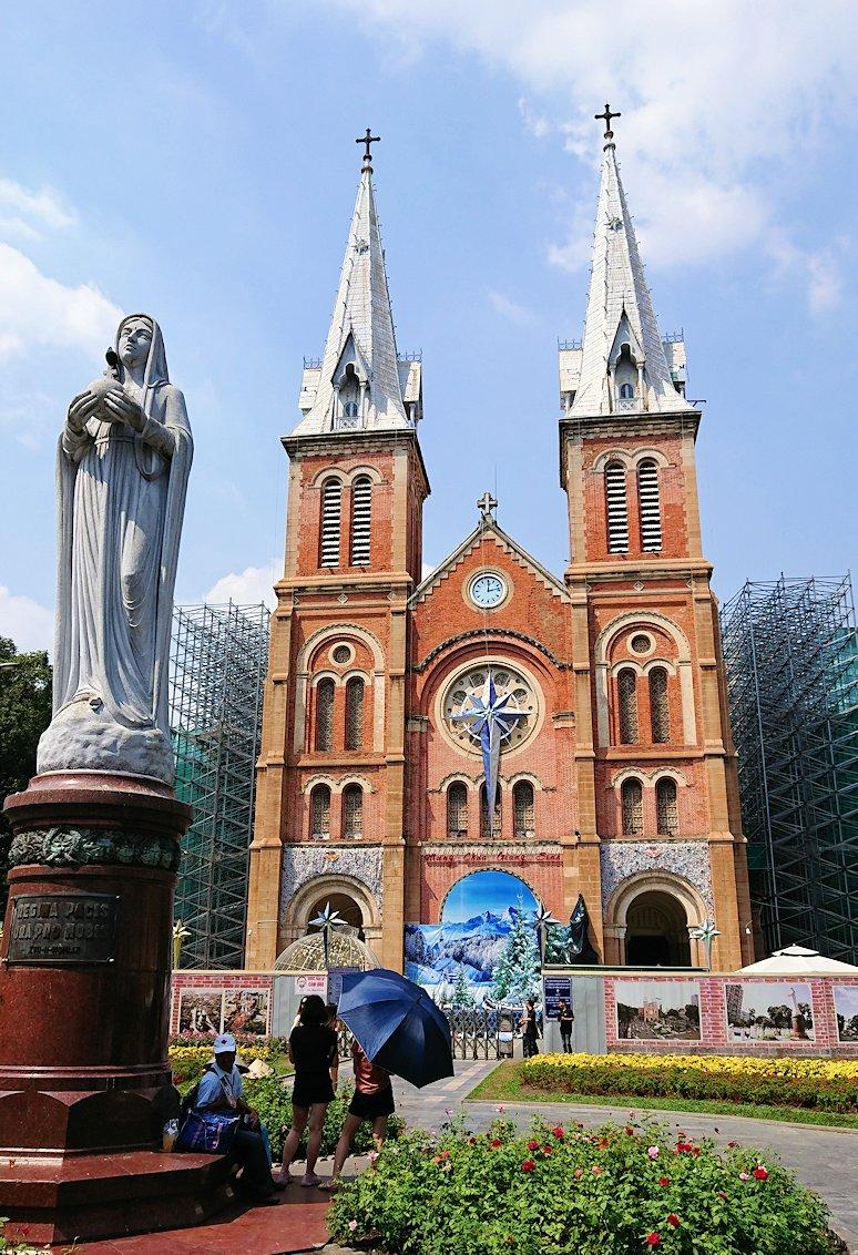 サイゴン大教会にたどり着く2
