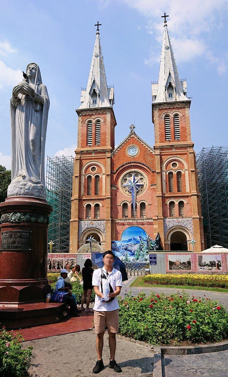 サイゴン大教会にたどり着く3