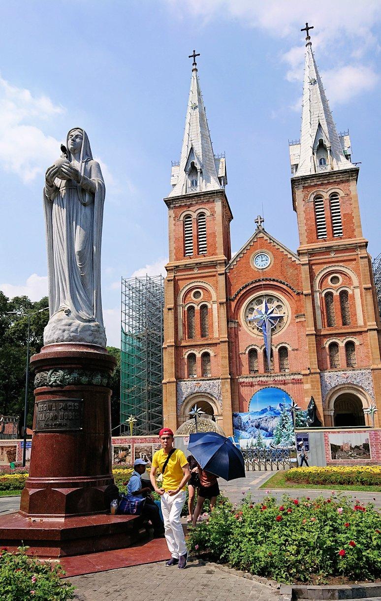 サイゴン大教会にたどり着く4