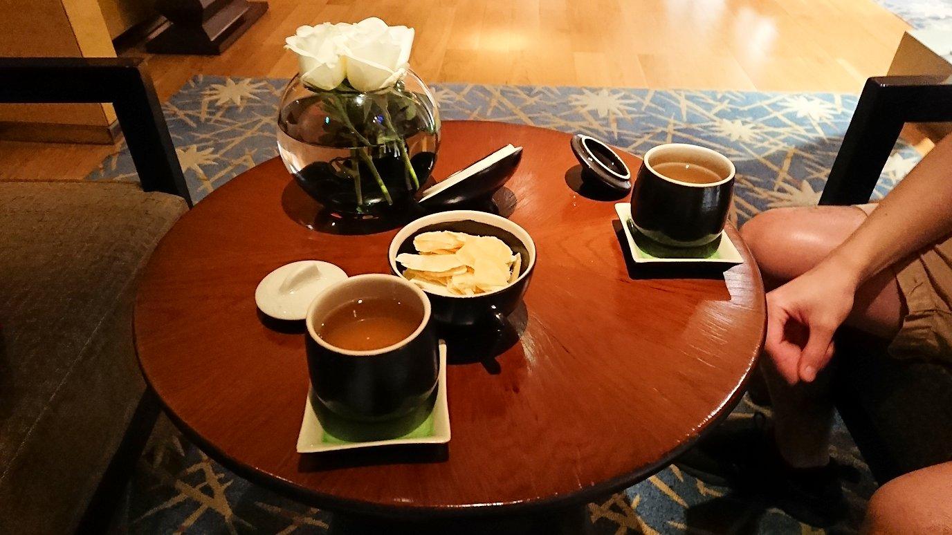 ホーチミン市内のインターコンチネンタルホテルのスパ180分を体験し喜ぶ漢7