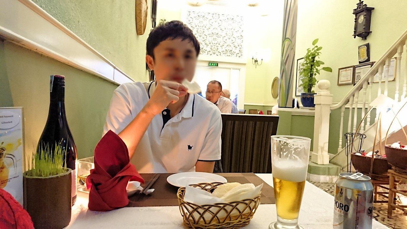 ホーチミン市内で最後の晩餐のお店「レモングラス」で美味しい・・・