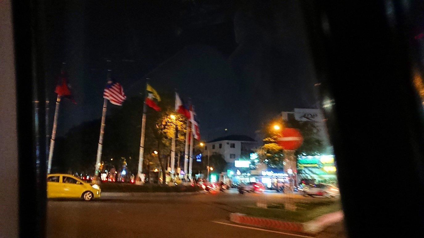 ホーチミン市内から空港へ向かうタクシー2