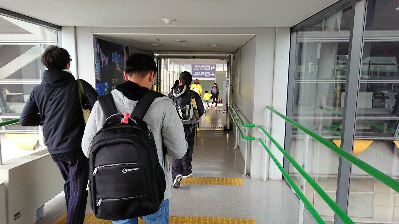 タンソンニャット国際空港から関西国際空港に帰ってきた