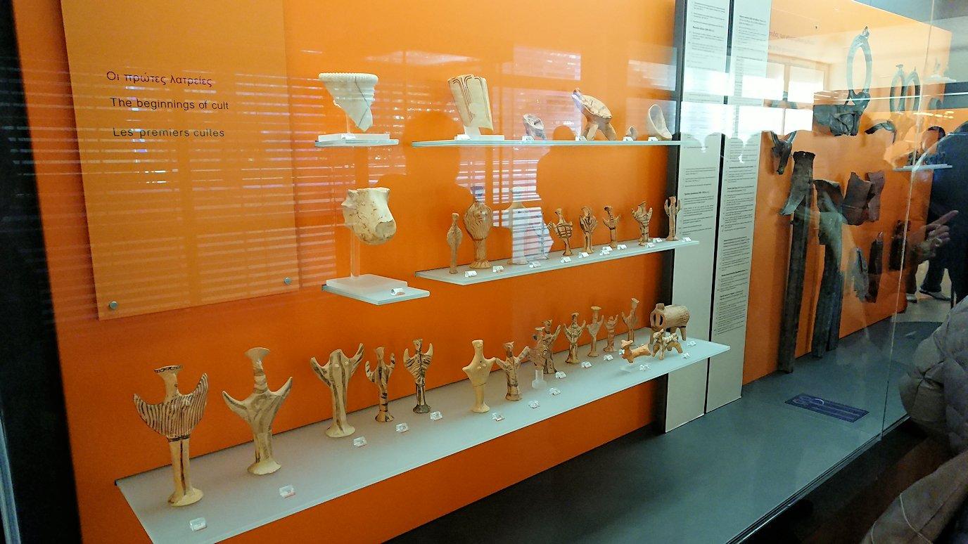 デルフィ遺跡の博物館内の展示品2