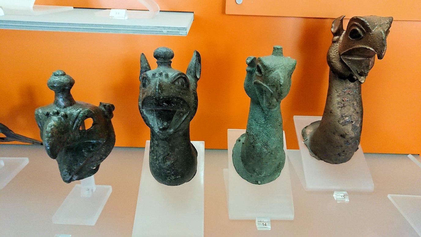 デルフィ遺跡の博物館内の展示品5