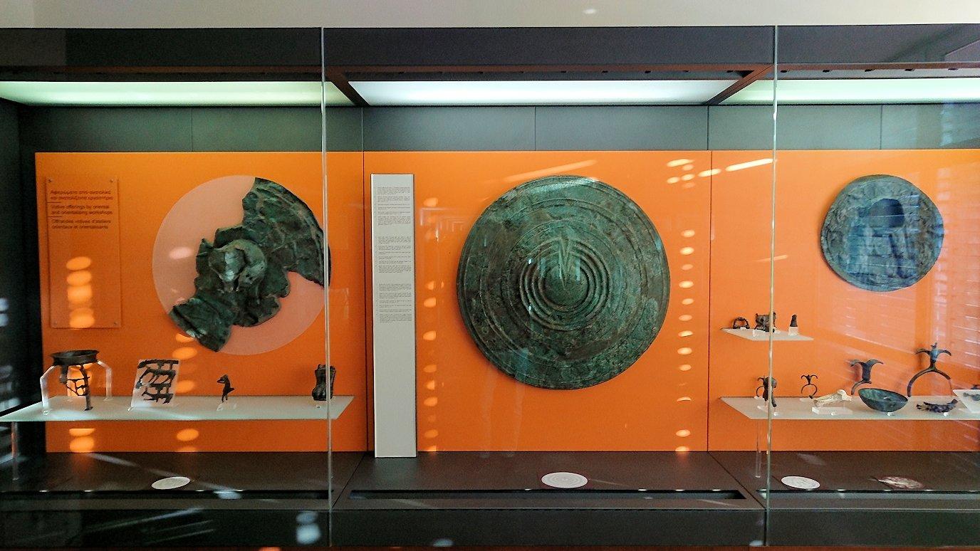 デルフィ遺跡の博物館内の展示品6