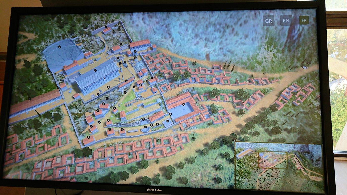 デルフィ遺跡のマップを見る2