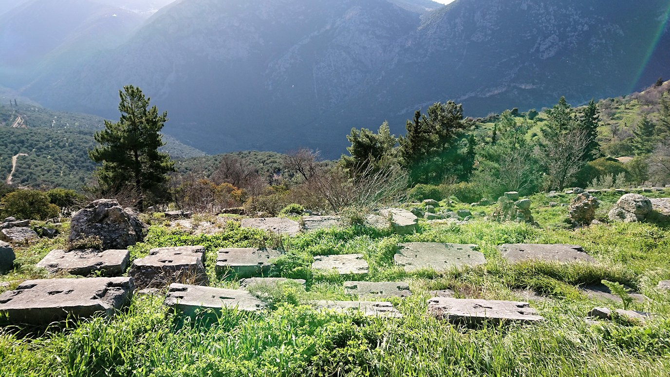 デルフィ遺跡の風景