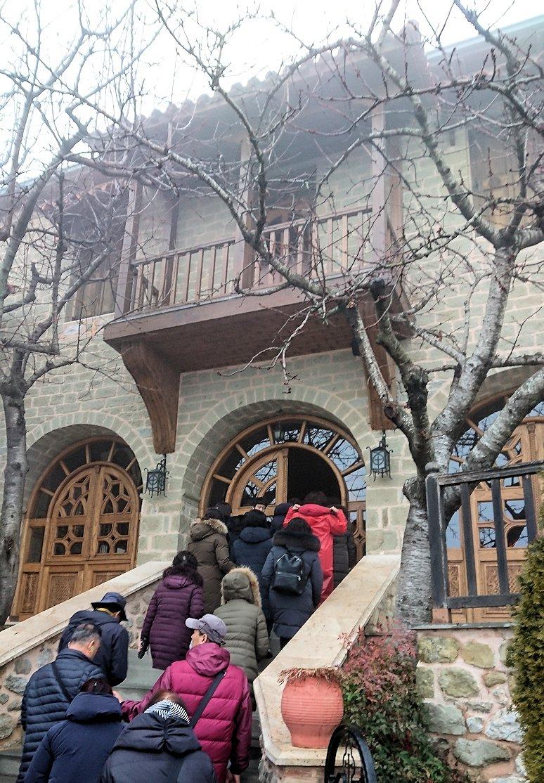 メテオラ地方のアギオス・ニコラオス修道院に入りました4