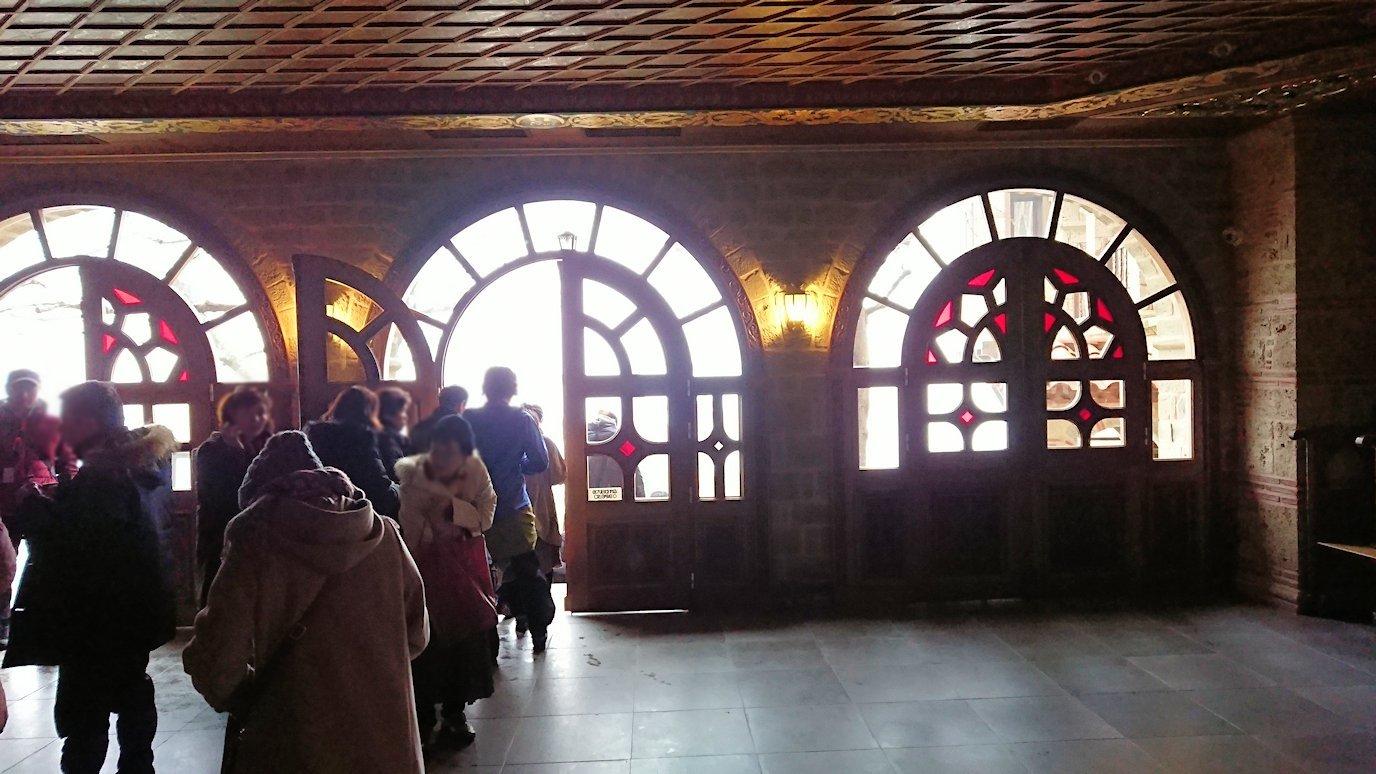 メテオラ地方のアギオス・ニコラオス修道院のお祈り場所を見学5