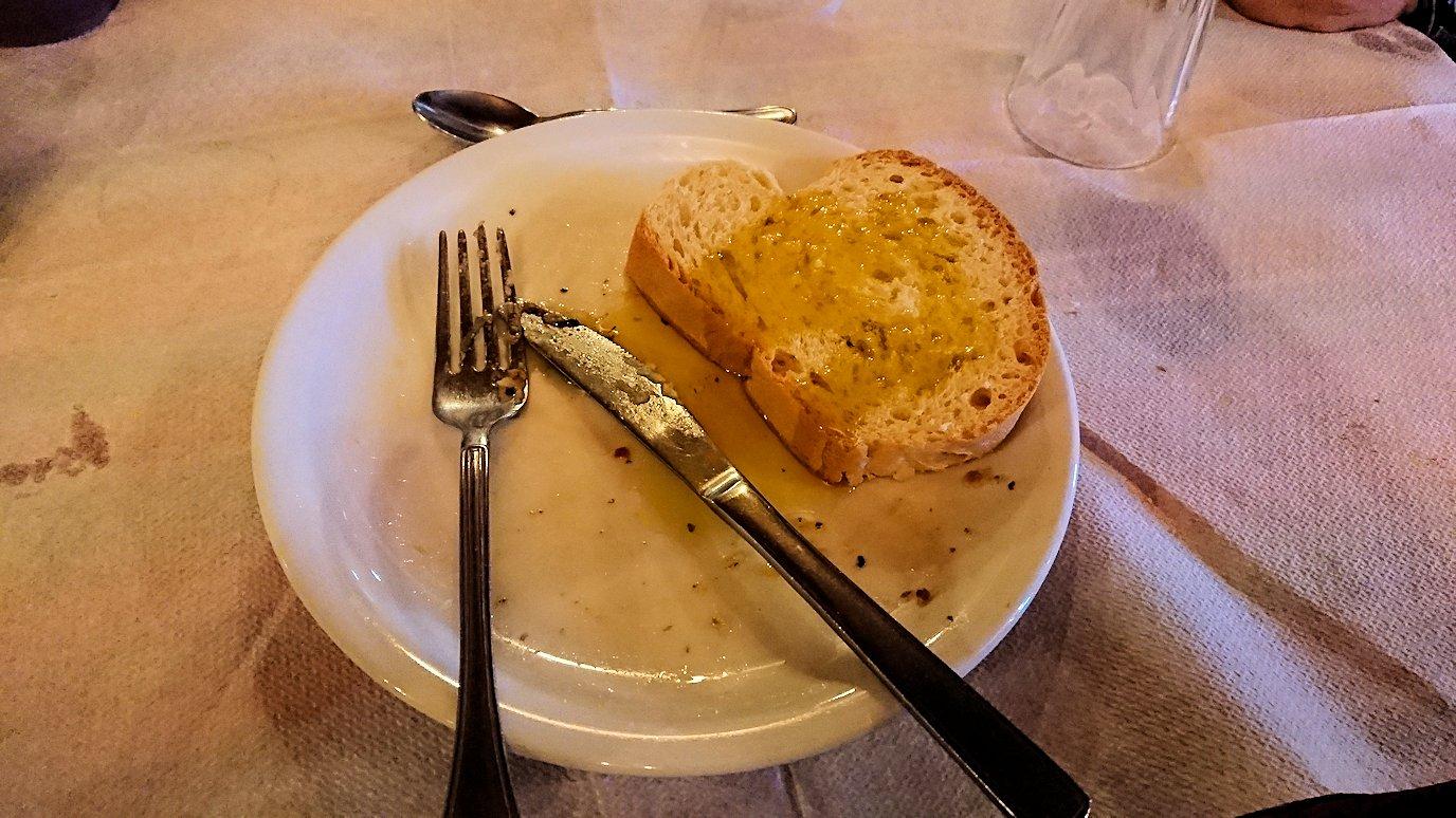 メテオラ観光後に食べた昼食のメイン料理の様子3