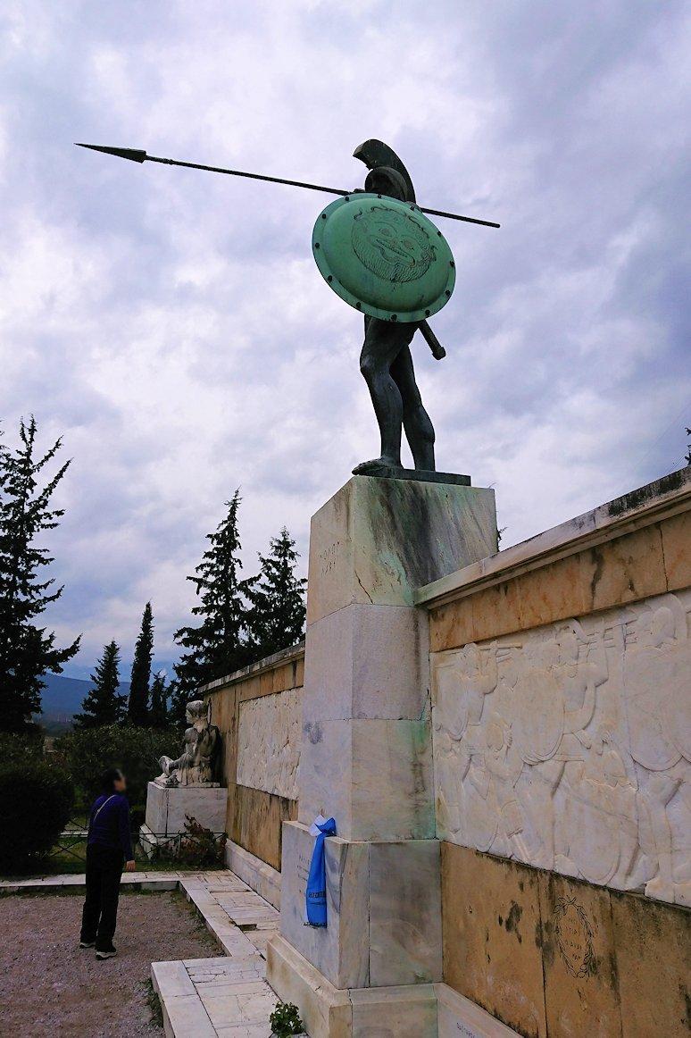 ギリシャのトリカラ地方からアテネに向かう途中に寄ってテルモピュライの戦い跡を訪れる5