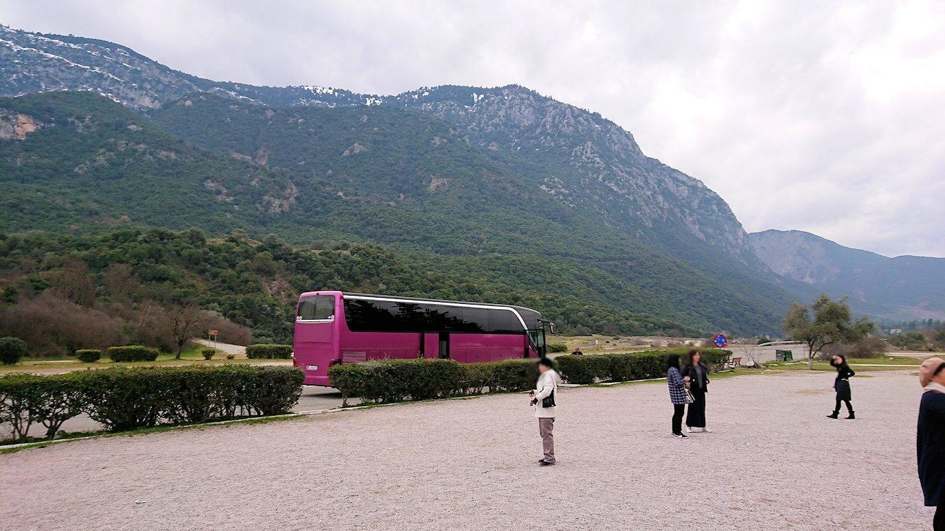 ギリシャのトリカラ地方からアテネに向かう途中に寄ってテルモピュライの戦い跡を訪れる6