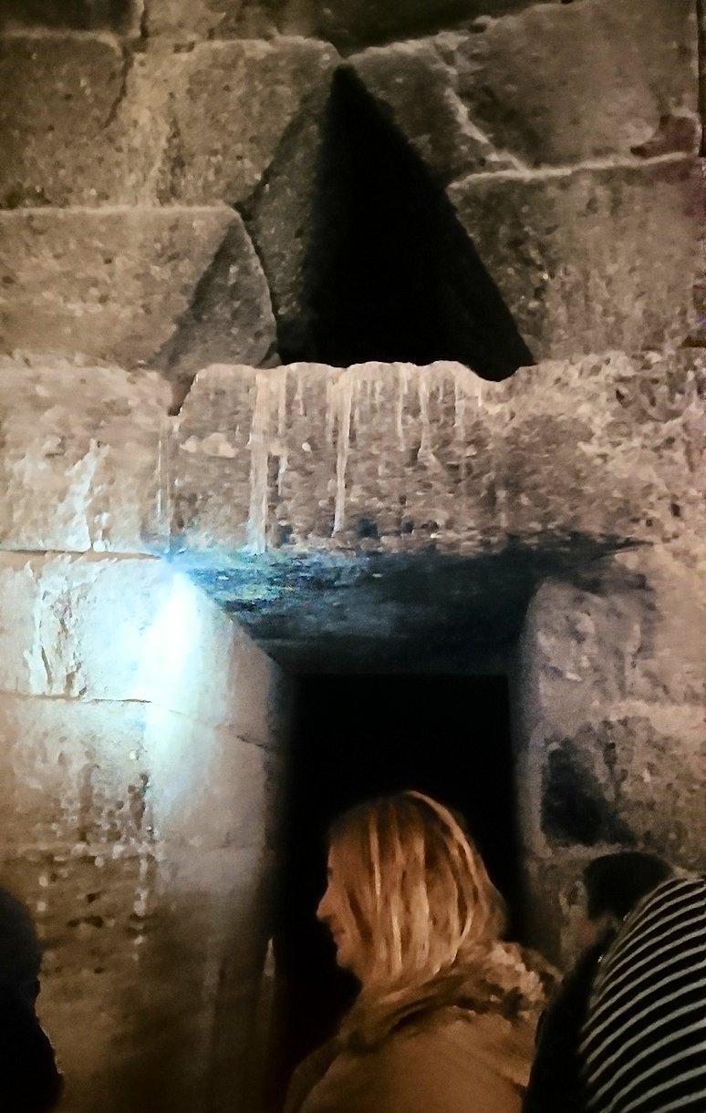 ミケーネ遺跡のアトレウスの宝庫の内側の様子6
