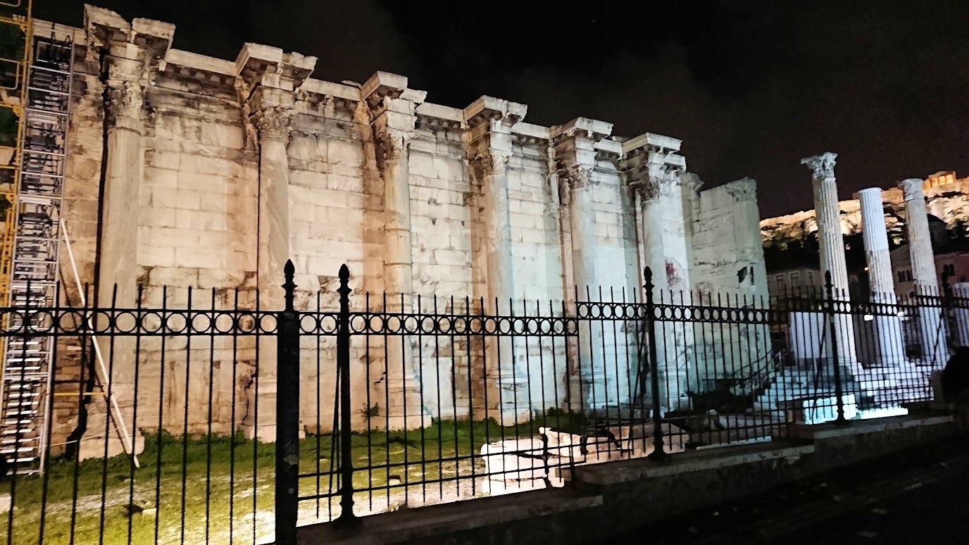 アテネの中心地シンタグマ広場周辺にある遺跡