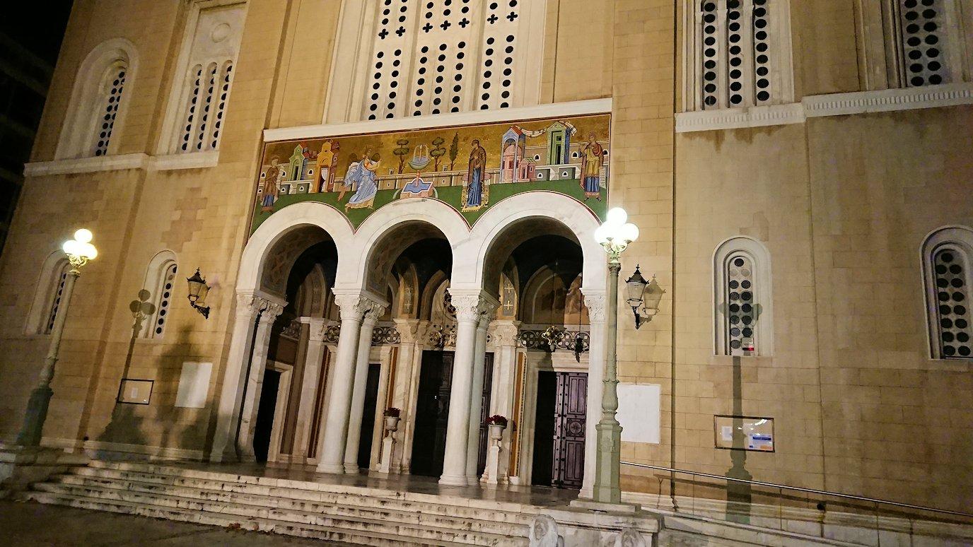 アテネの中心地シンタグマ付近の教会4