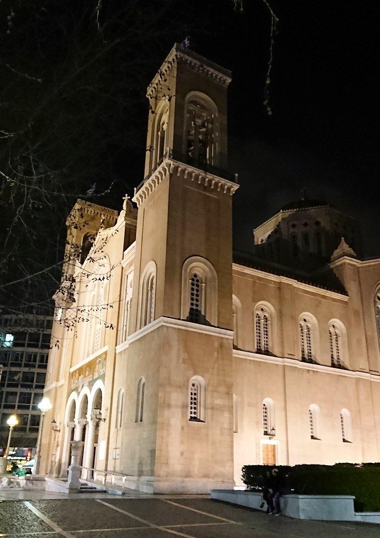 アテネの中心地シンタグマ付近の教会5
